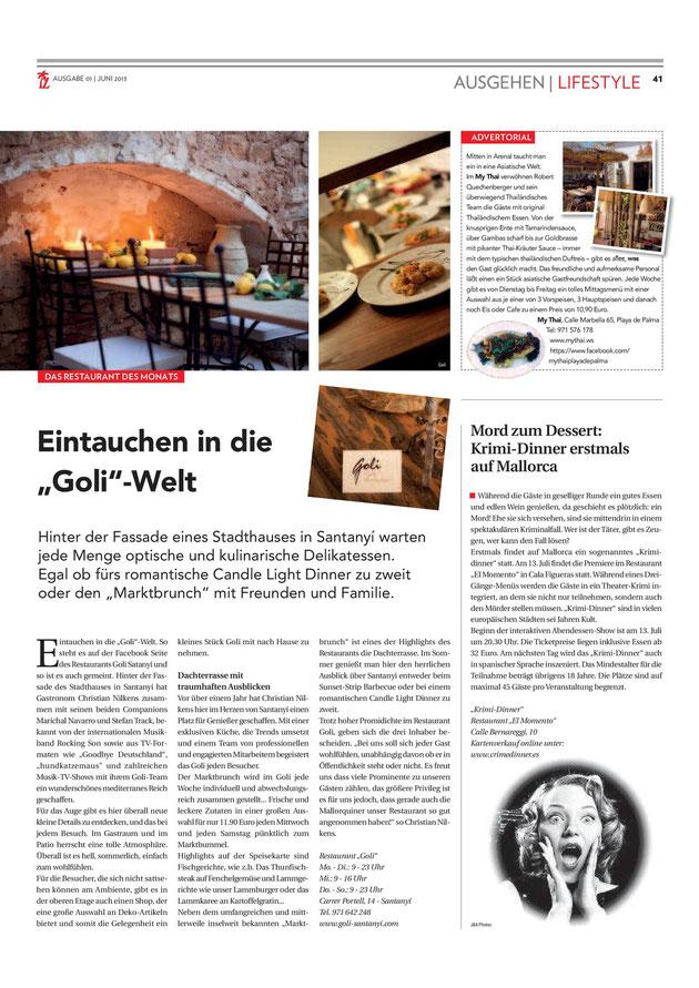 Die Inselzeitung Ausgabe Juni 2013