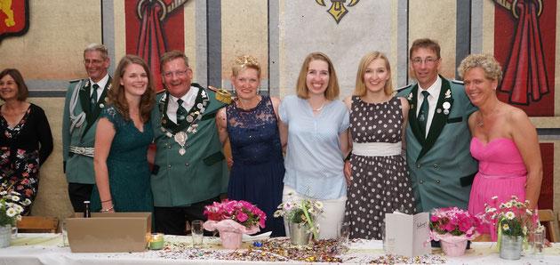 König Thomas I. Schulte Sasse & Königin Gertrud II. Eifert