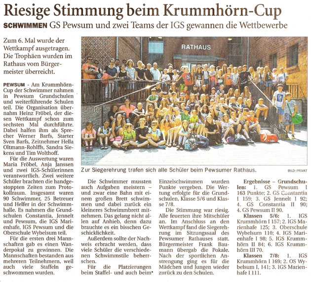 Ostfriesenzeitung 05.06.2018
