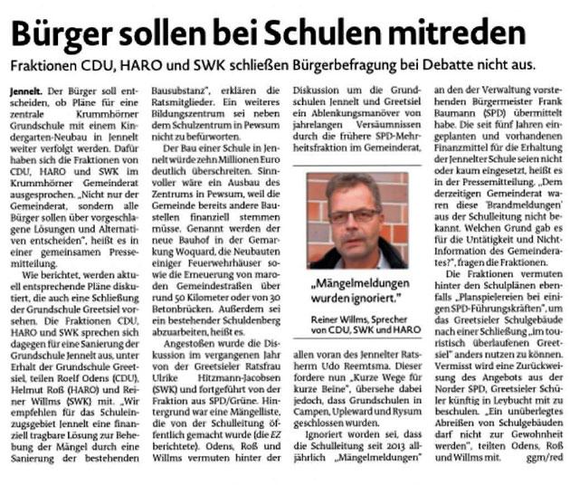 Emder Zeitung 19.02.2020
