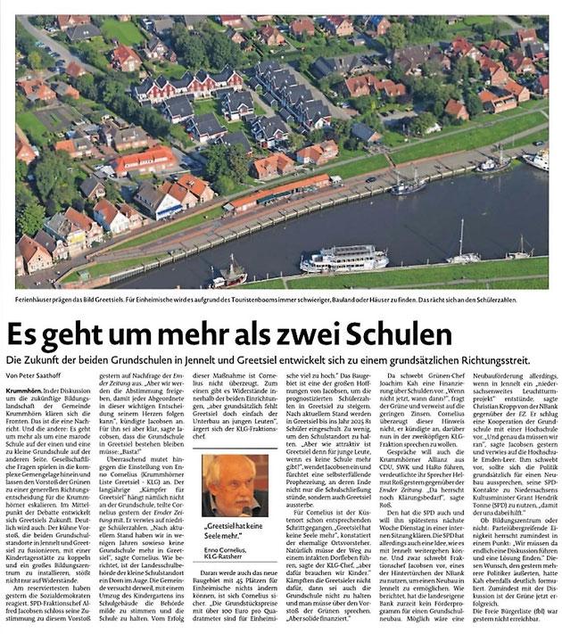 Emder Zeitung 30.01.2020
