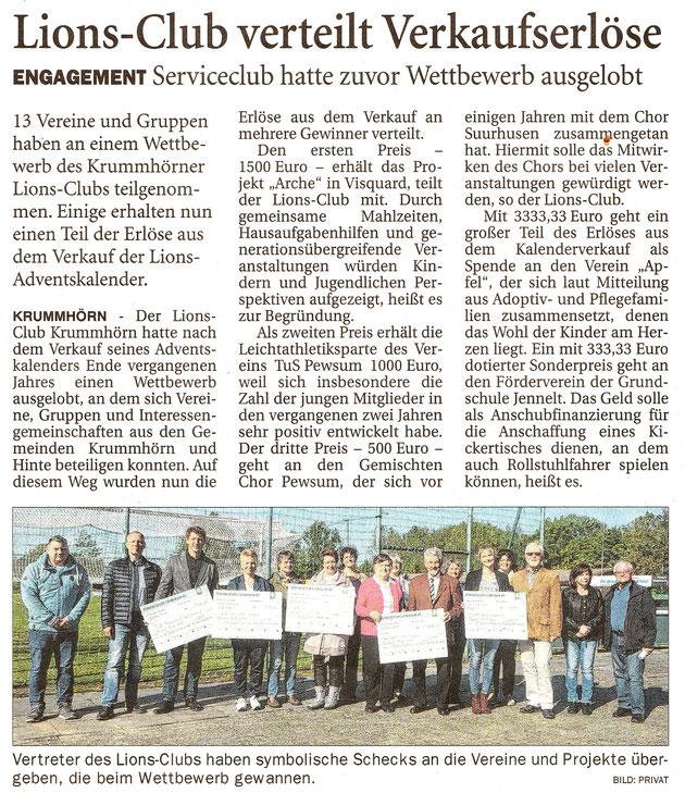 Ostfriesenzeitung 20.5.2019