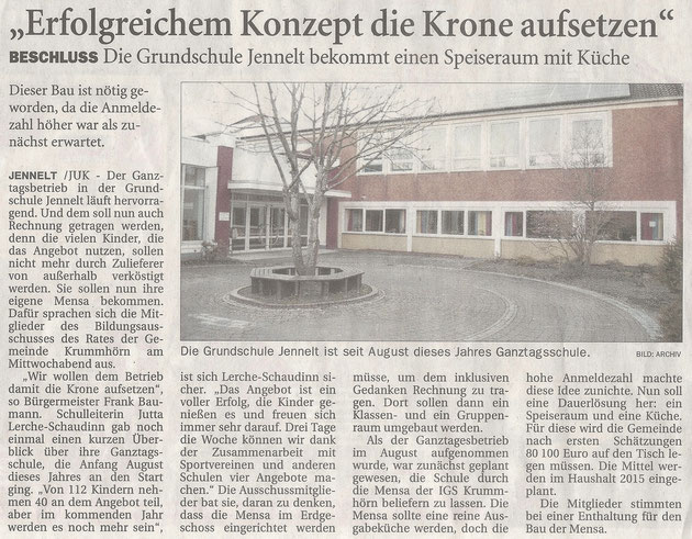 Ostfriesenzeitung 05.12.2014