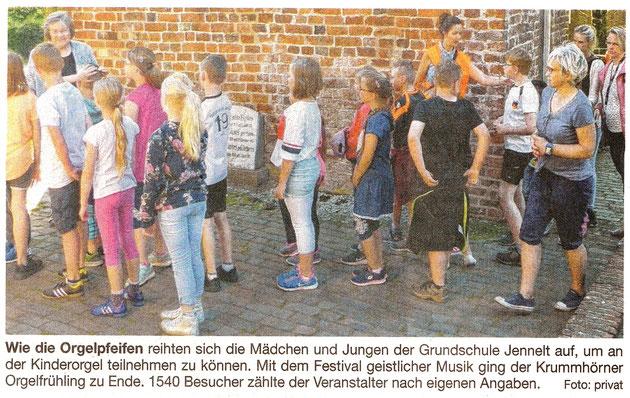 Ostfriesische Nachrichten 25.05.2018