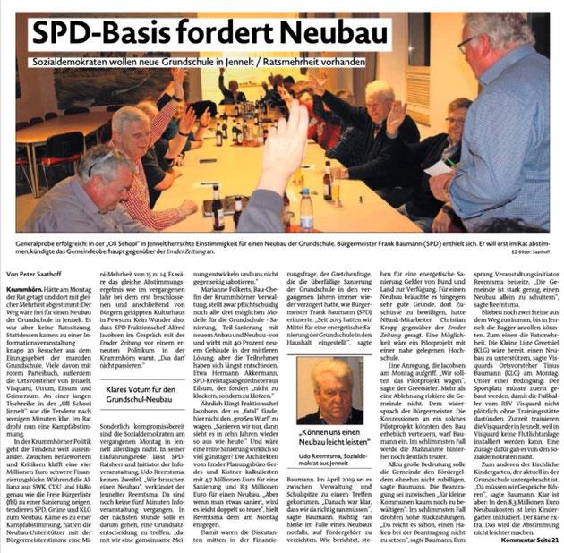 Emder Zeitung 12.02.2010