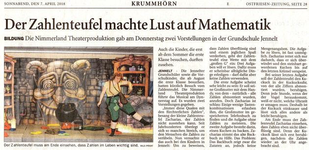 Ostfriesenzeitung 07.04.2018