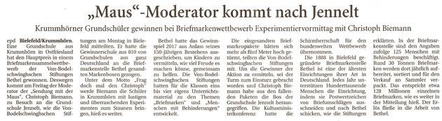 Ostfriesische Nachrichten 30.05.2018