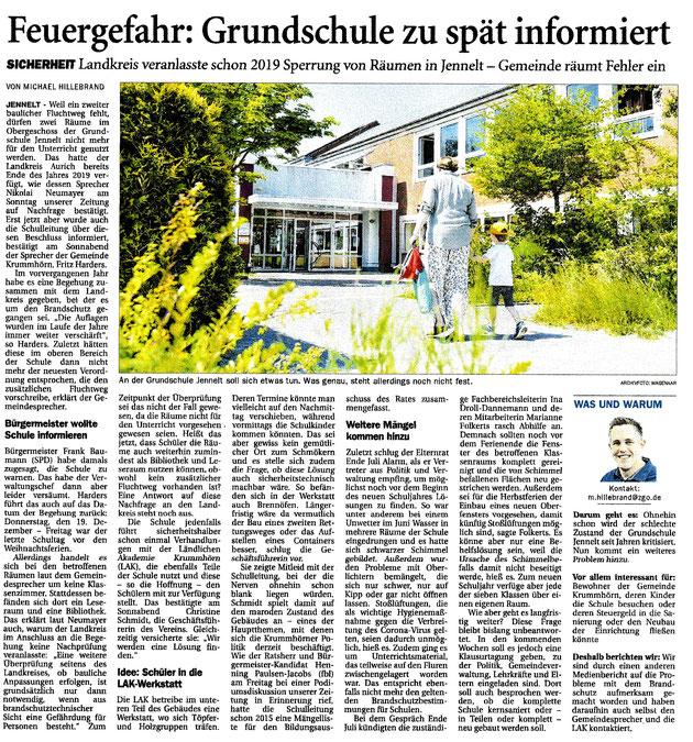 Ostfriesenzeitung 06.09.2021