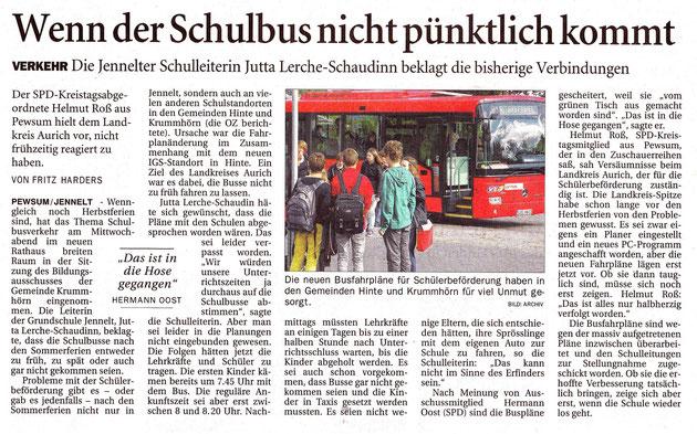 Ostfriesen-Zeitung 30.10.2015