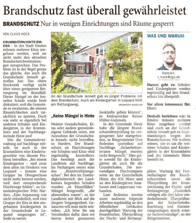 Ostfriesenzeitung 18.10.2021