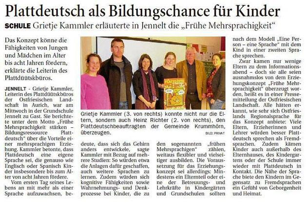 Ostfriesen-Zeitung 21.03.2015