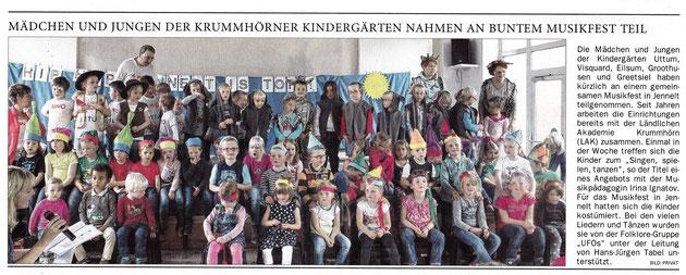Ostfriesen-Zeitung 26.06.2015