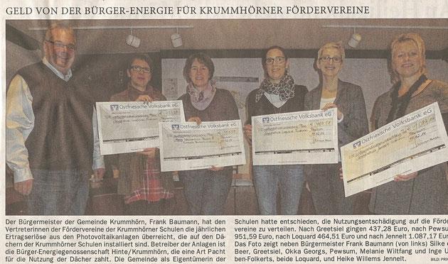 Ostfriesenzeitung 23.12.2014