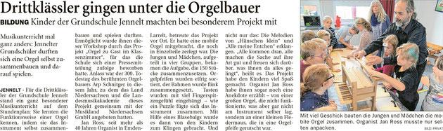 Ostfriesenzeitung 09.11.2019