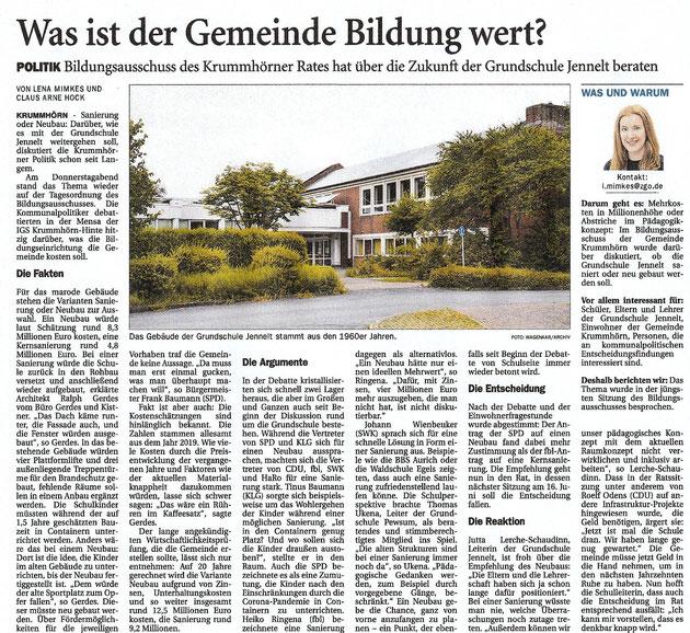 Ostfriesenzeitung 29.05.2021