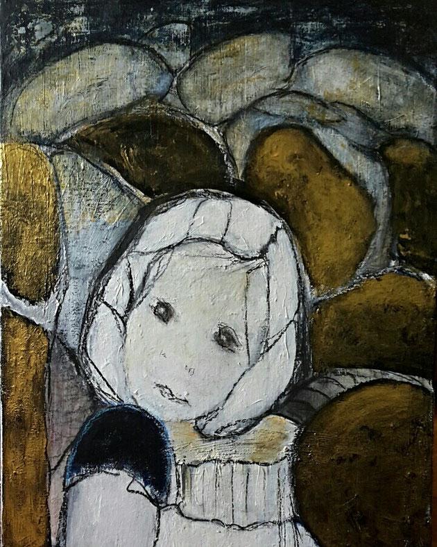 Acryl auf Leinwand/ 50x70 cm