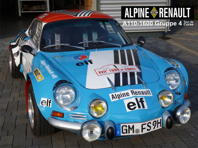 Renault Alpine A110-1600-Gruppe 4 - Team Alpine