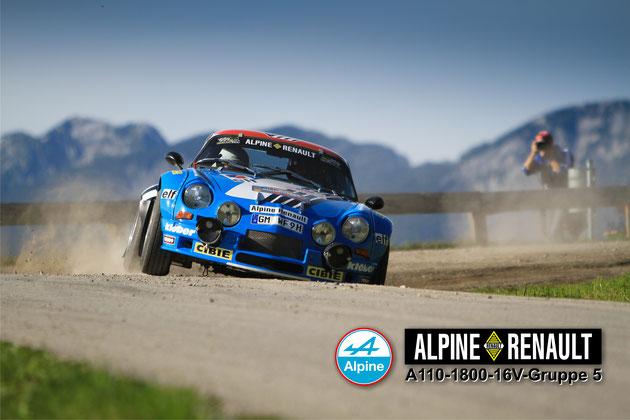 Renault Alpine A110-1800-16V-Gruppe 5 - Team Alpine