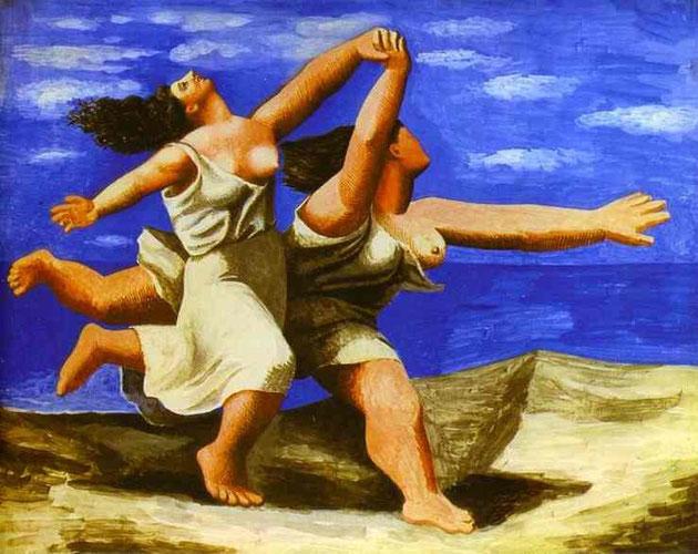 Pablo Picasso - Donne che corrono sulla spiaggia. 1922