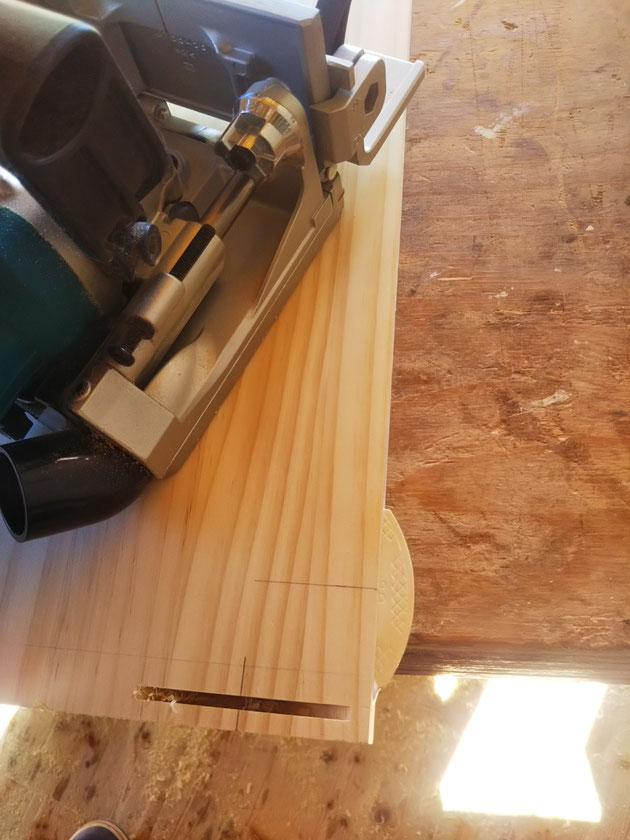 スケートボードラック 古材家具