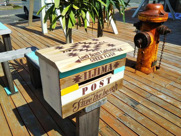 廃材家具 古材家具 海を感じるサーフインテリア