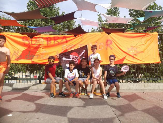 Equipo ganador: Los piratas invencibles