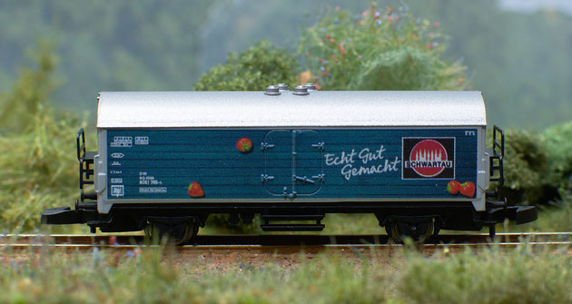 Der Slogan der Schwartauer Werke auf dem Ausstellungswagen gilt auch für die Organisation der Ausstellung.