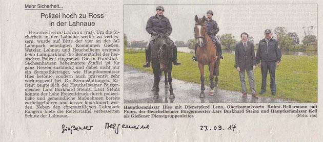 Gießener Allgemeine Zeitung 23.09.2014