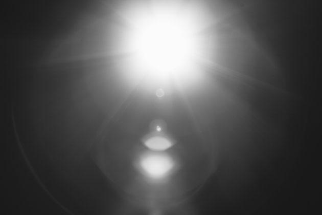 Ein atmosphärischer Lichteffekt