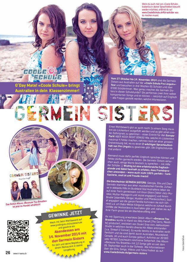 4-TEENS-Ausgabe Oktober 2014