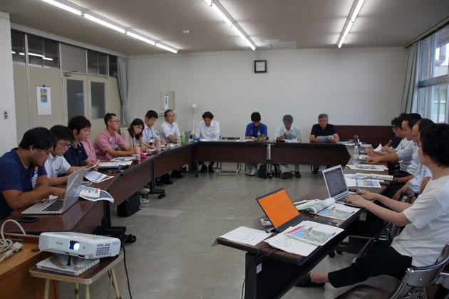 「京都オーシャンロード実行委員会」が始動した、6月下旬のはじめてのMTGの様子