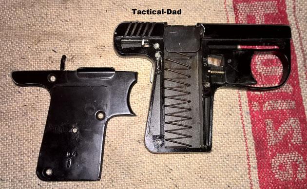 Zerlegte Wadie Automatic Pistole