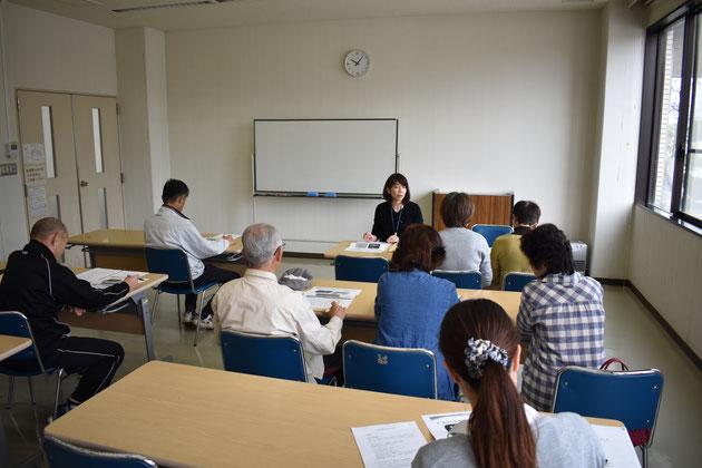 入会者説明会は毎週水曜日、午前10時より。