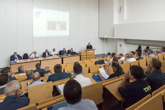 THW Landesversammlung zu Gast bei der Landesfachhochschule der Polizei Brandenburg
