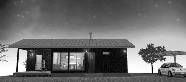 軽井沢の別荘や信州長野の田舎暮らし生活にとても素敵な間取りです
