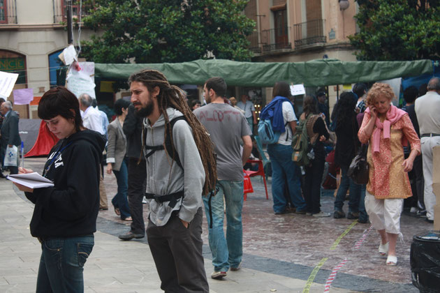 Барселонские бомжи.
