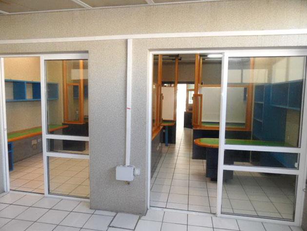 Extraraum in der unteren Etage