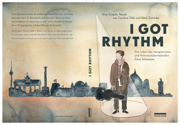 Graphic-Novel von Niels-Schröder und Caroline Gille über das Leben des Holocaustüberlebenden Coco Schumann, der einer der wichtigsten deutschen Jazzmusiker ist.