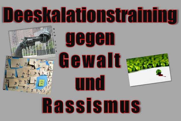 Deeskalationstraining gegen Gewalt und Rassismus