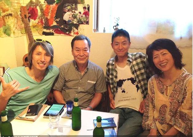 2015.6.22  Junさん  yanoさん  うららさん @田無なおきち