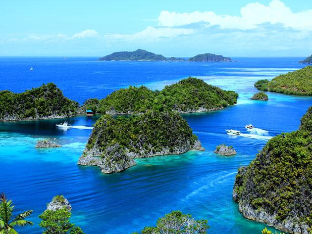 Inselgruppe Indonesien