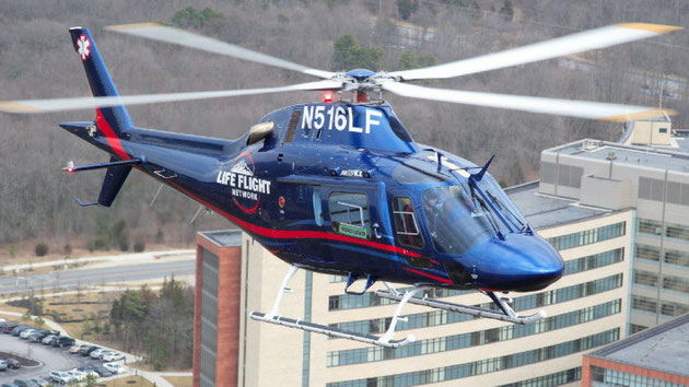 AW 119Kx in servizio con la  Life Flight Network (Foto: Life Flight)