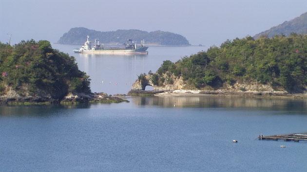 象の鼻=笠戸島の象徴的風景