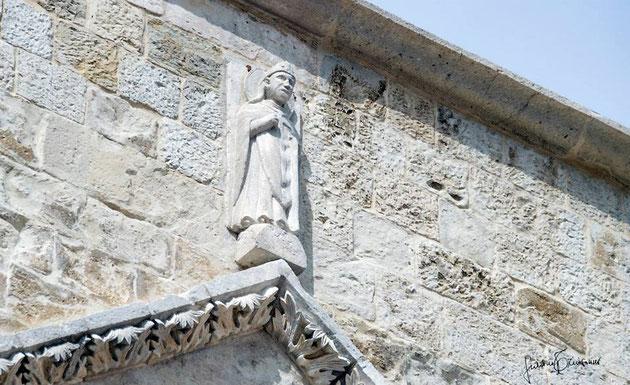 San Pardo vescovo, sopra il Rosone