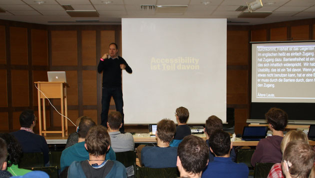 DeafIT Conference 2015 Nürnberg Jo Spelbrink with User Experience (UX)