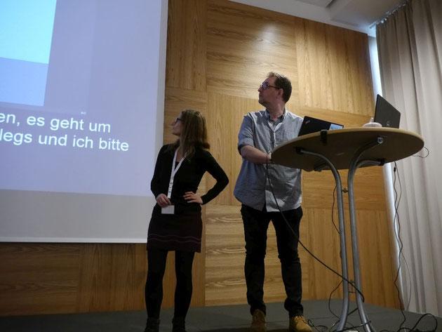 DeafIT Konferenz 2018: Uta Meißner & Jörn Koch