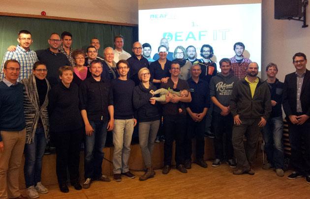 DeafIT Conference 2014: The participants