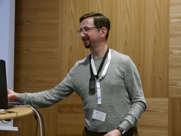 DeafIT Konferenz 2018: Vincent Rothländer