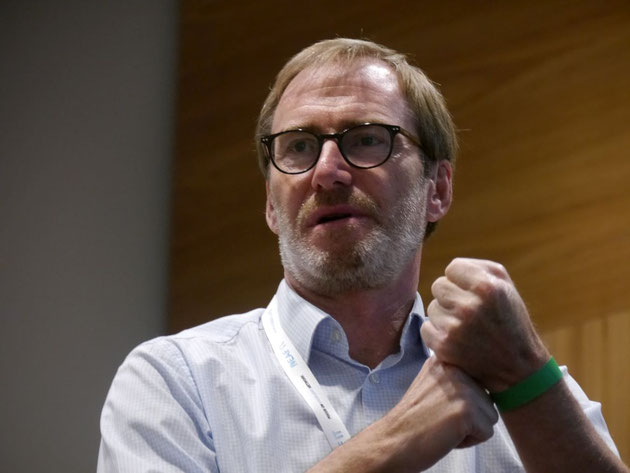DeafIT Konferenz 2017: DeafIT-Gründer Tobias Burz