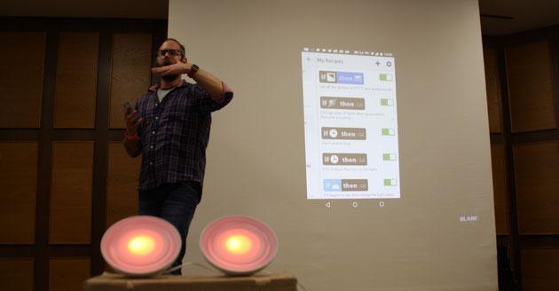 DeafIT Konferenz 2015 Nürnberg Kilian Knörzer mit Virtual oder Augmented Reality